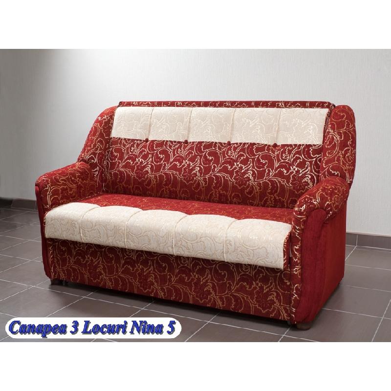 Canapele set holuri tapiterie mobila apartamentul s for Canapea extensibila nina 5